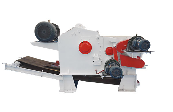 Drum-type Wood Chipper