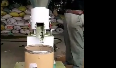 Green wheat seeding Flat die Pellet Mill Testing