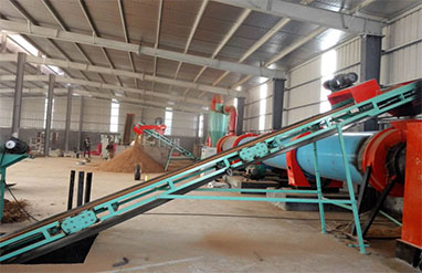 1.5 T Per H Wood Sawdust Production Line