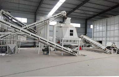 4.5 T Per H Bamboo Pellet Production Line