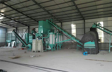 5 T Per H Wood Sawdust Pellet Production Line