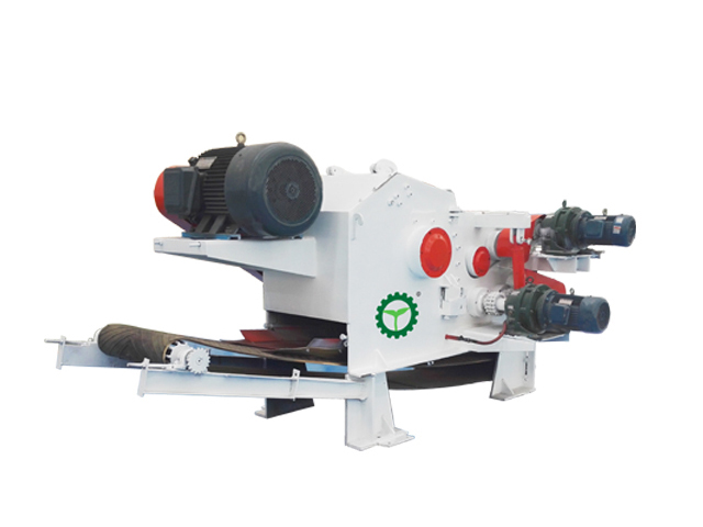 4-6t/h wood chipper machine