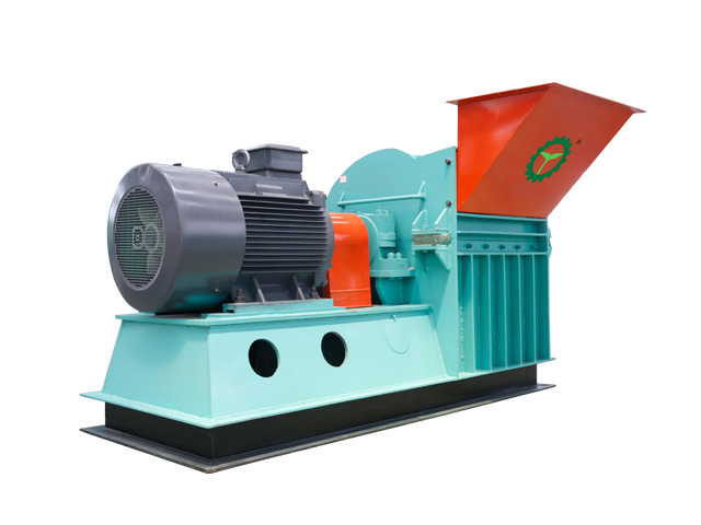 1-2t/h wood hammer mill