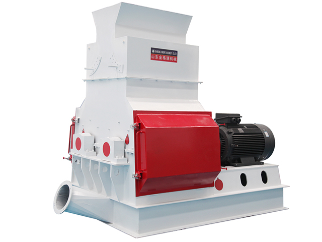 Double rotor sawdust making machine