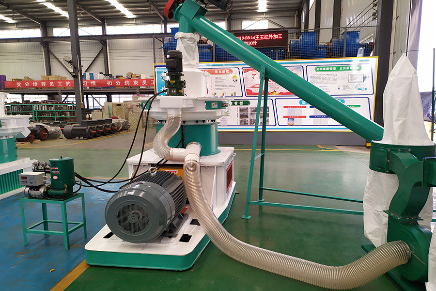 1.2-1.5t/h rice husk pellet making machine